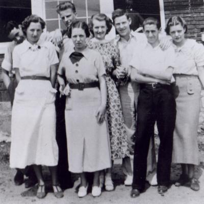 Billy Graham in 1936