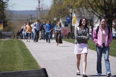 A new survey by the University of Michigan Institute for Social Research shows that some college majors can influence students' religiosity,  positively or negatively, over time. RNS file photo of Juniata College in Huntingdon, Pa., courtesy of Juniata College.