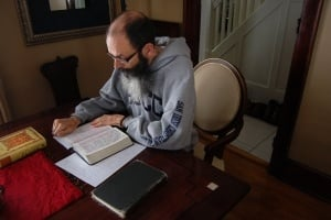 The Rev. Ed Dobson has spent 2008 living like Jesus, praying daily, eating kosher, not working on Saturdays and not shaving his beard.