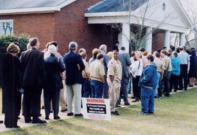 At Carter's church, former president still a draw - Religion