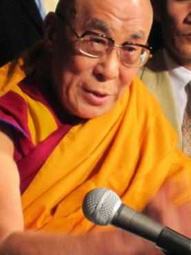 (RNS1-MAY21) The Dalai Lama is hosting four days of public appearances at Radio City Music Hall in New York City. For use with RNS-DALAI-LAMA, transmitted May 21, 2010. RNS photo courtesy Robert Vinson.