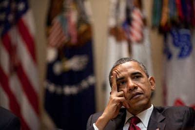 (RNS1-AUG13) President Obama voiced support for Muslims' right to build an Islamic center near Ground Zero, touching off a sensitive election-year debate with Republicans. For use with RNS-MOSQUE-POLITICS, transmitted Aug. 16, 2010. White House photo by Pete Souza.