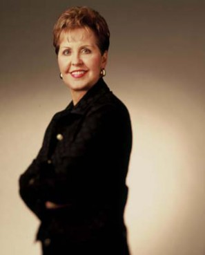 (RNS) St. Louis-based televangelist Joyce Meyer was cited by Sen. Charles Grassley, R-Iowa, for making improvements on her financial accountability. RNS file photo courtesy Joyce Meyer Ministries.