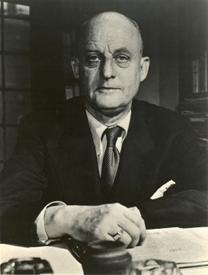 (RNS) The influence of the late Protestant theologian Reinhold Niebuhr could be felt in President Obama's eulogy to the victims of the shootings in Tucson, Ariz.. Religion News Service file photo.