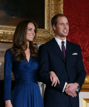 (RNS1-APR25) Prince William and Kate Middleton will marry April 29 at Westminster Abbey in London in a full display of Britain's unique church-state relationship. For use with RNS-ROYAL-WEDDING, transmitted April 25, 2011. RNS photo courtesy Clarence House/St. James?s Palace.