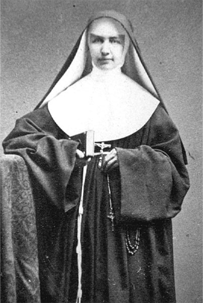 Blessed Mother Marianne Cope (circa 1870s) ran a hospital and religious order in New York before being sent to care for lepers in Hawaii. Cope is poised to become a saint after Pope Benedict XVI certified a miracle credited to her intercession. Photo courtesy Sisters of St. Francis
