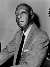 A. Philip Randolph was the co-leader with Martin Luther King of the 1963 March on Washington and was the founder of the Brotherhood of Sleeping Car Porters, the first predominantly black union.
