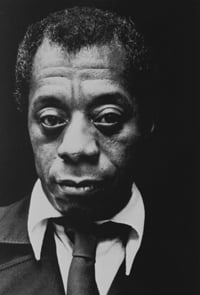 James Baldwin, poet, playwright and Civil Rights activist. Baldwin, once a Pentecostal preacher, never publicly declared his atheism, but was critical of religion.