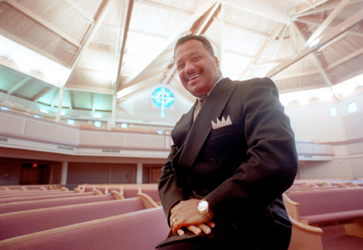 The Rev. Fred Luter Jr., of New Orleans, is the highest ranking African-American in the Southern Baptist Convention and is widely seen as the denomination's next president.