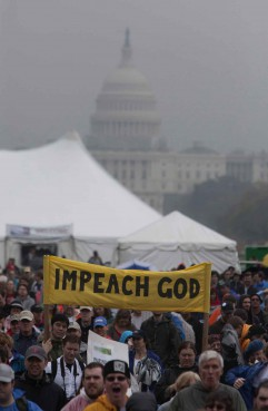 Thousands of atheists and unbelievers gathered Saturday on the National Mall for the Reason Rally.