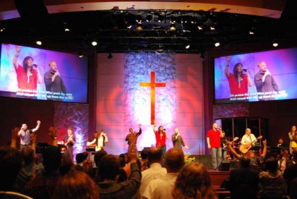 Christ Fellowship in McKinney, Texas, offers worshipers a Facebook page, online sermons, live chats, and QR codes.