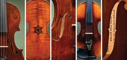 Details of the violins.