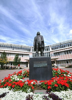 "Brigham Young University in Provo, Utah, was rated the most religious college campus, where ""students pray on a regular basis,'' by The Princeton Review. Photo courtesy Brigham Young University"