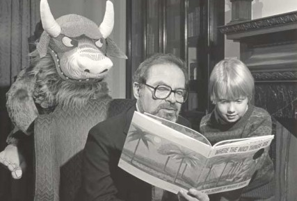 Maurice Sendak at the Rosenbach Museum & Library, 1985.