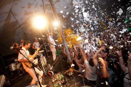 A scene from Cornerstone Festival 2011. This summer will be the last call for Cornerstone, one of the oldest Christian music and arts festival in the U.S.