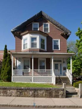 Malcolm X, Ella Little-Collins House, 72 Dale St., Roxbury, MA.