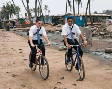 Mormon Missionaries — The Church's missionary program is one of its most recognized characteristics. Mormon missionaries can be seen on the streets of hundreds of major cities in the world as well as in thousands of smaller communities.