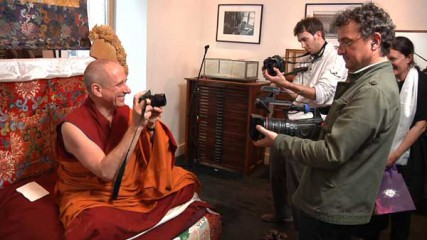 The Dalai Lama has given Nicholas Vreeland (pictured here far left), director of The Tibet Center in New York, a daunting new assignment. On July 6, Vreeland will be enthroned as the new abbot of Rato Monastery in southern India, one of the most important monasteries in Tibetan Buddhism. He will be the first Westerner to hold such a position.