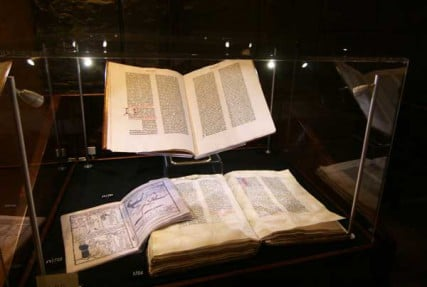 The first edition of the King James Bible, a work commissioned in 1604 upon the ascension of James, to replace the influential but divisive Geneva Bible. This extremely rare octavo edition of the New Testament was clearly intended for popular use, perhaps indicating why very few have survived.