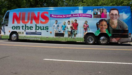 Nuns on the Bus concludes its two-week, 2,700-mile trip Monday July 2, 2012.