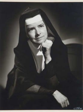Combining images and words from advertising, pop culture and religion, the bold graphic art of Sister Mary Corita (pictured here) was as deeply representative of the spirit of the 1960s as it was ubiquitous in church basements, dorm rooms and urban communes of people involved in the struggle for civil rights and the campaign to end the Vietnam War.