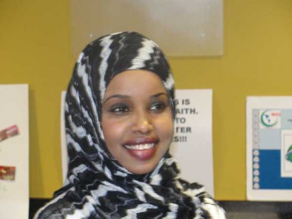 Faduma Farah, 26, helped the Islamic Society of Boston Cultural Center reach out to troubled Somali Muslim youth.