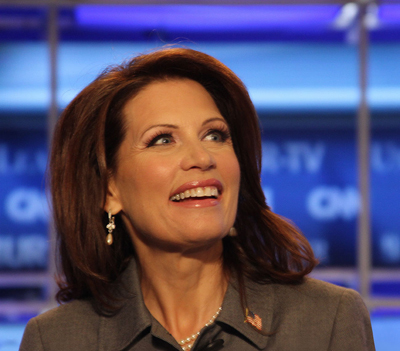 (RNS1-JUL20) Rep. Michele Bachmann, R-Minn., left her Lutheran church six days before she announced her run for president. She now belongs to a mainstream evangelical Baptist church. For use with RNS-POLS-CHURCH, transmitted July 20, 2011. RNS photo courtesy Bachmann for President.