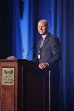 """In an official response to the Pacific Union, Seventh-day Adventist Church President Ted N.C. Wilson (pictured here) and other officers cited those previous decisions and said world church leaders """"will carefully review the situation and determine how to respond,"""" possibly at an October meeting."""