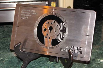 The Filmmakers' Award for Short Film at the 2012 Atheist Film Festival in San Francisco (Aug. 2012).
