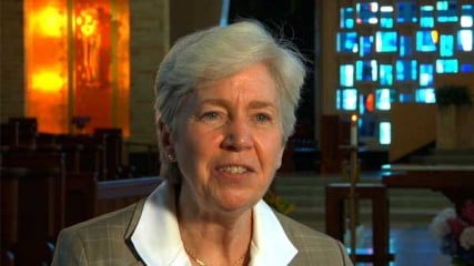 Sister Mary Hughes, prioress of the Dominican Sisters of Amityville and immediate past president of the Leadership Conference of Women Religious, which represents about 80 percent of the country's 57,000 Catholic sisters.