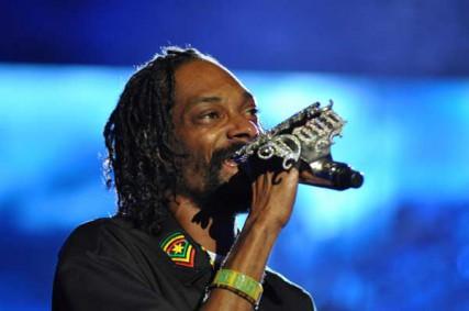 Snoop Dogg performas at Coachella 2012 on Sunday, April 22.