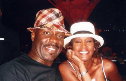 BeBe Winans and Whitney Houston at Atlantis Resort for Michael Jordan's Golf Tournament, 2008.