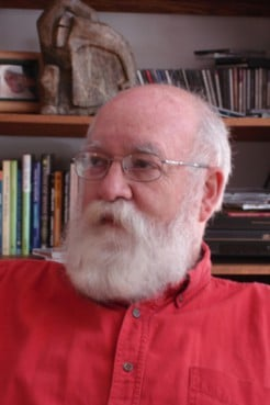 "(RNS) Tufts University professor Daniel Dennett is the co-author, with Linda LaScola, of a recent study, ""Preachers Who Are Not Believers'' in the journal Evolutionary Psychology. RNS file photo courtesy Tufts University."
