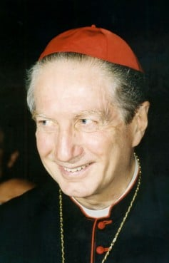 Italian Cardinal Carlo Maria Martini, a renowned biblical scholar and former archbishop of Milan, died Aug. 31 after a long battle with Parkinson's disease. He was 85. Cardinal Martini is pictured in a 1994 file photo.