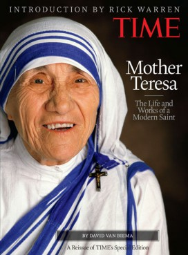5 lines on mother teresa