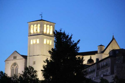 The Basilica of St. Francis provided a dramatic backdrop to the Fetzer Institute Global Gathering in Assisi.