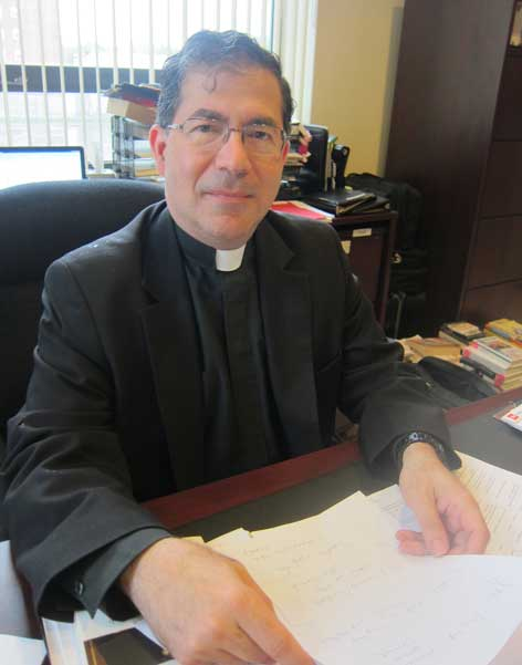 The Rev. Frank Pavone, national director, Priests for Life. RNS file photo by David Gibson
