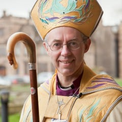 The Right Rev. Justin Welby, bishop of Durham, was named the 105th Archbishop of Canterbury.