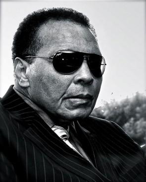Boxing legend Muhammad Ali (2011).