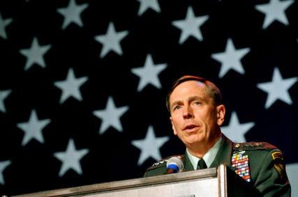 Former Gen. David Petraeus' resignation was announced on Friday, Nov. 9, 2012.