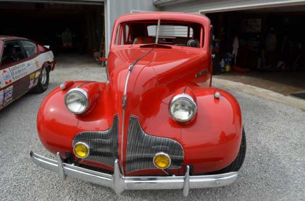 """Rev. Dale Schaefer rebuilt this 1939 Buick street rod from """"a pile of rust."""""""