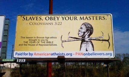 Slave Billboard