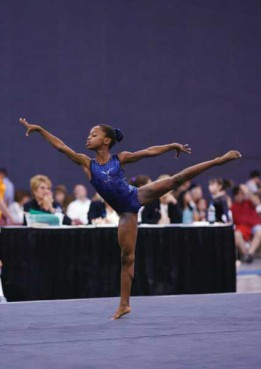 Gabrielle Douglas, who walked away with the gold at the London Olympics, talks about her prayer life, her love of matzo ball soup and overcoming homesickness to make it to the Olympics.