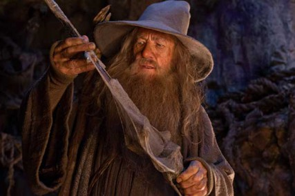 """Ian McKellen as the Wizard Gandalf the Grey in the fantasy adventure """"THE HOBBIT: AN UNEXPECTED JOURNEY,"""" a production of New Line Cinema and Metro-Goldwyn-Mayer Pictures (MGM), released by Warner Bros. Pictures and MGM."""