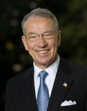 Senator Chuck Grassley of Iowa.