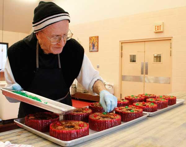 Monks Fruitcake