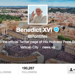 The Vatican has unveiled Pope Benedict XVI's official Twitter account and announced plans to launch an official papal app for smartphones.