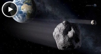 Asteroid simulation via NASA