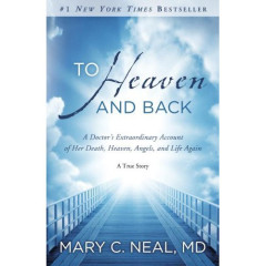 "Mary Neal's ""To Heaven and Back: A Doctor's Extraordinary Account of Her Death, Heaven, (RNS3-jan24) Angels, and Life Again: A True Story,"" published in May, tells of the orthopedic surgeon's celestial journey after a kayak accident in Chile in which she was pulled underwater for so long that even she thought she was dead. It has been in the top 150 for 33 weeks and reached as high as No. 14 in July.  RNS photo courtesy Amazon.com.  *Note: This image is not available to download."