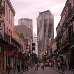 Number 4: Louisiana - Louisiana Royal Street in New Orleans.  RNS photo courtesy Shubert Ciencia via Flickr (http://flic.kr/p/5iKLJE).